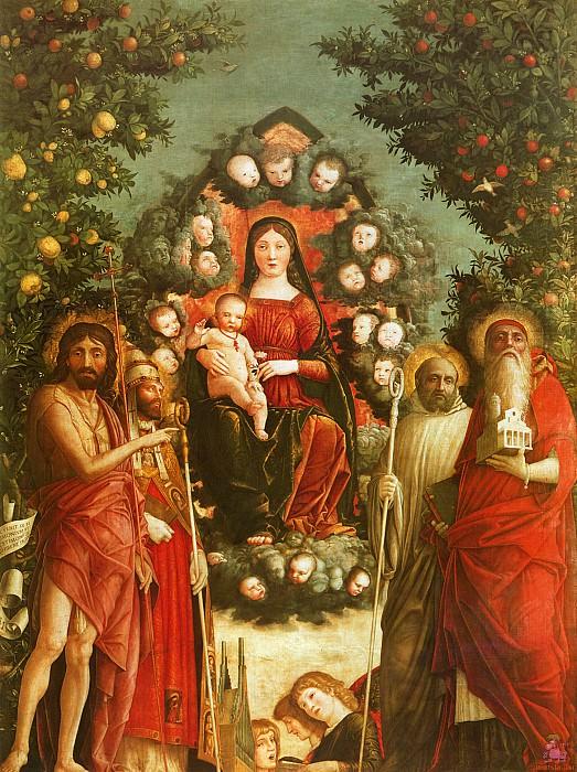 Мадонна Тривульцио (1494-97). Андреа Мантенья