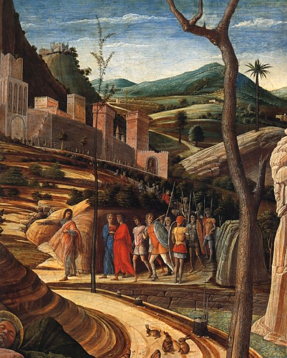 The agony in the garden dt1. Andrea Mantegna