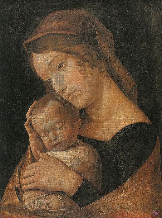 Virgin and Child 1 (1465-1470). Andrea Mantegna