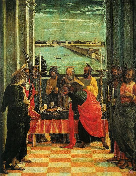 Death of the Virgin (1460). Andrea Mantegna