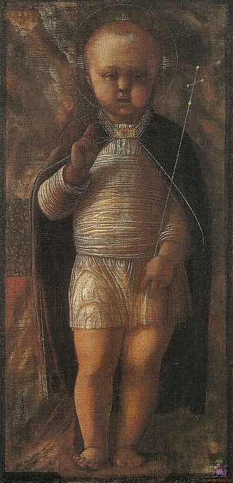 The Infant Redeemer (1485-1495). Andrea Mantegna
