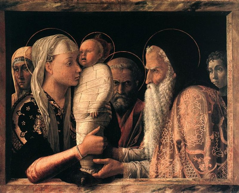 Presentation at the Temple. Andrea Mantegna