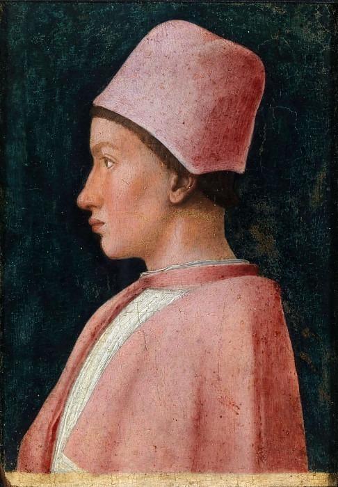 Portrait of Francesco Gonzaga (1461). Andrea Mantegna