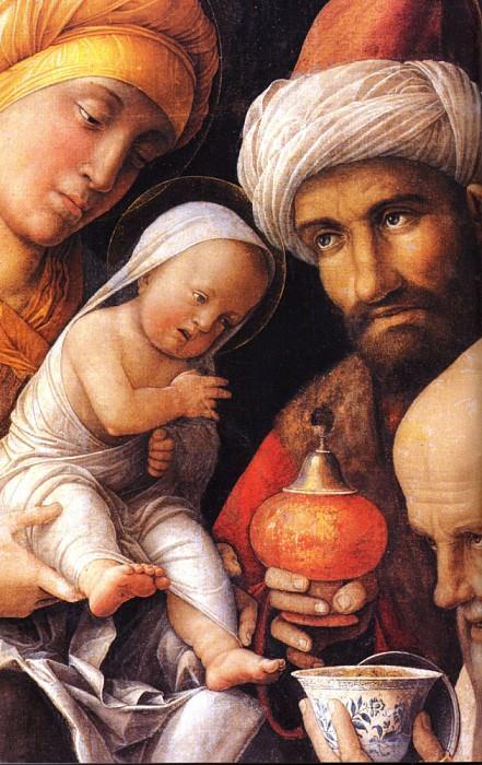 The Adoration of the Magi dt1. Andrea Mantegna