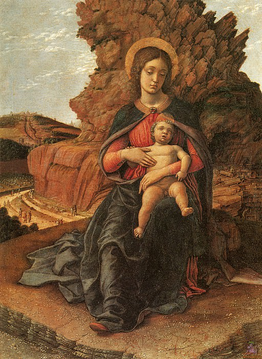 The Madonna of the Stonecutters (1488-1490). Andrea Mantegna