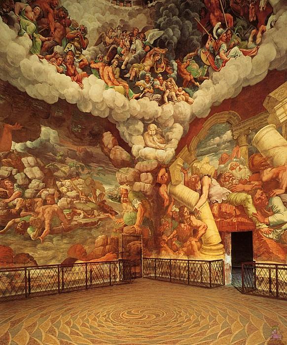 Зал гигантов Романо (1524). Андреа Мантенья