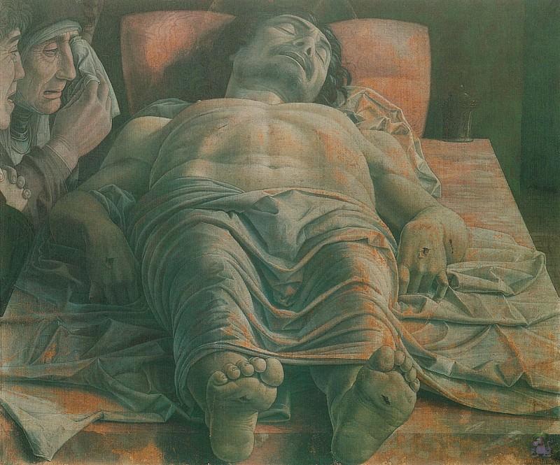 Lamentation Over the Dead Christ 2 (1464-1500). Andrea Mantegna