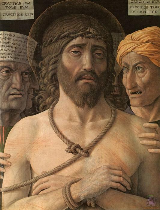 Mantegna 074 Ecce Homo (1500). Andrea Mantegna