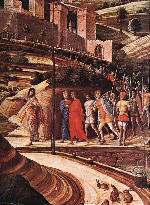 Agony in the Garden detail. Andrea Mantegna