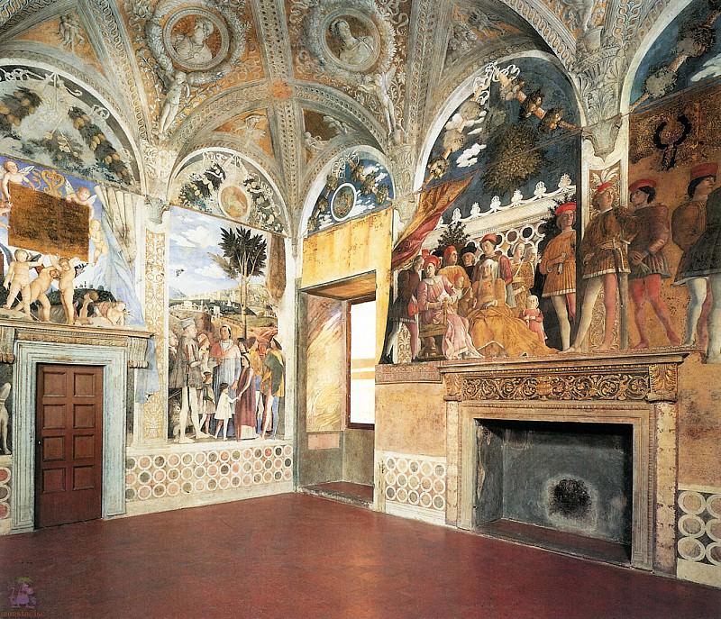 Camera degli Sposi (1465-1474). Andrea Mantegna