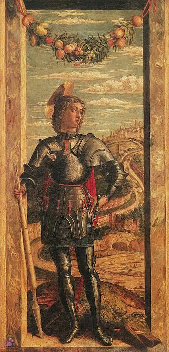St.George (1460-1470). Andrea Mantegna
