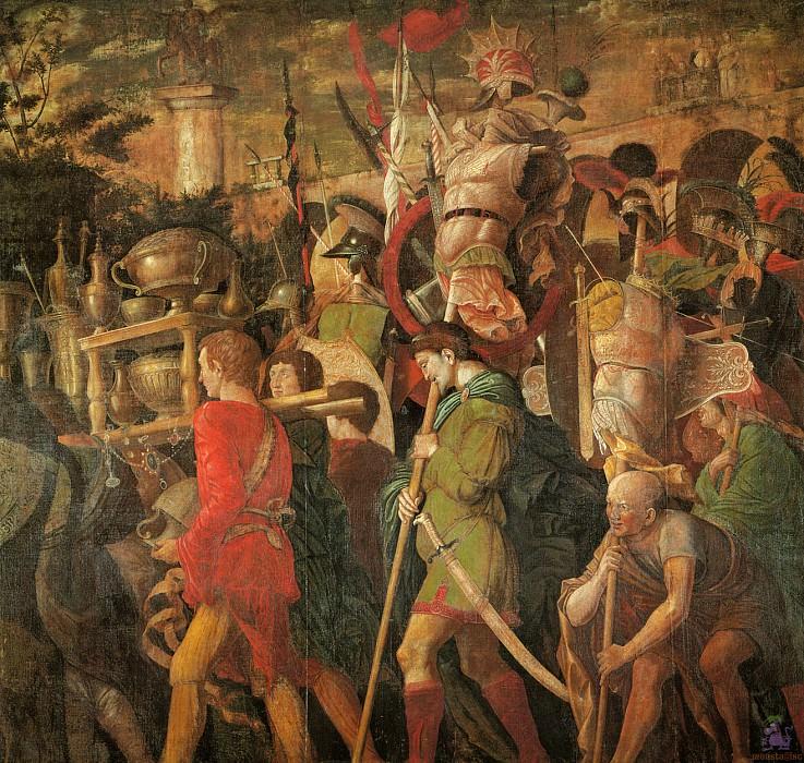 Triumphs of Caeser (scene 6) (1500). Andrea Mantegna