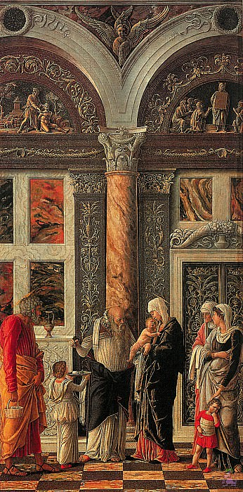 The Circumcision of Christ (1460). Andrea Mantegna