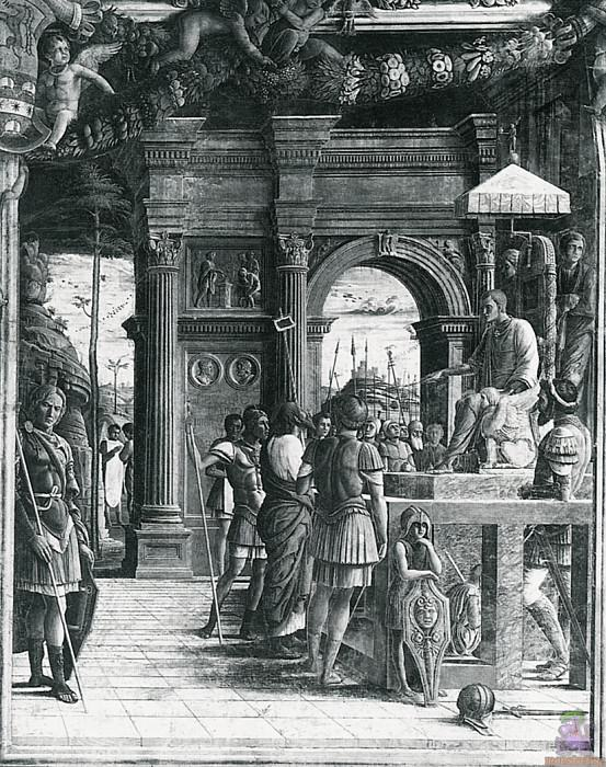Scenes from the Life of St.James (1448). Andrea Mantegna