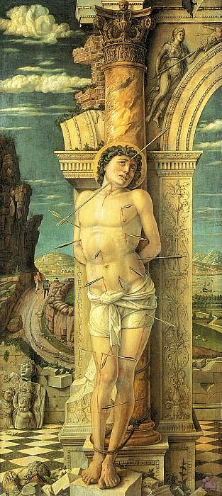 St.Sebastian (1459). Andrea Mantegna