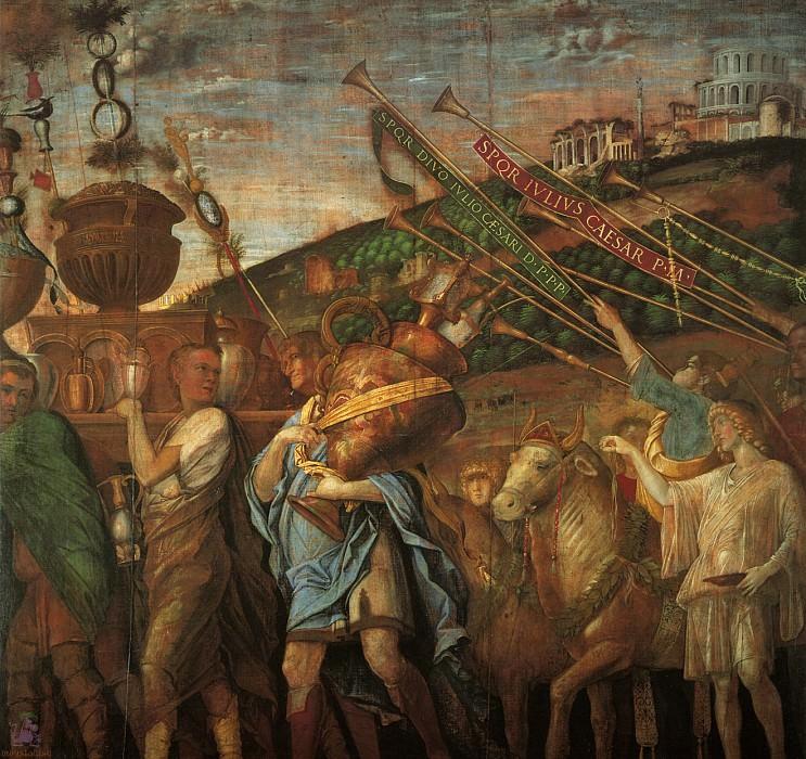 Triumphs of Caeser (scene 4) (1500). Andrea Mantegna