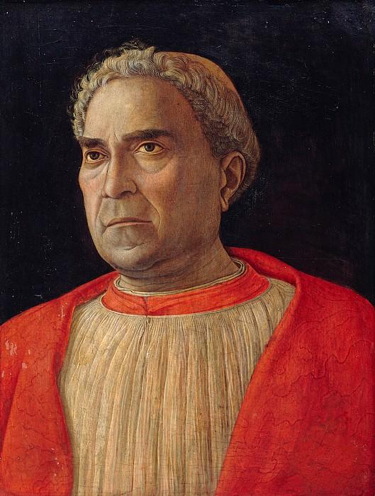 Cardinal Lodovico Trevisano (1459). Andrea Mantegna