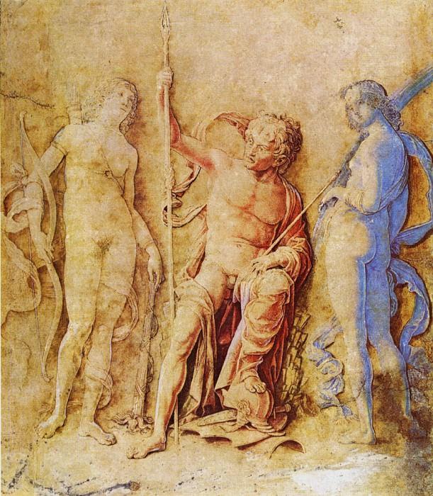 Mars and Venus. Andrea Mantegna