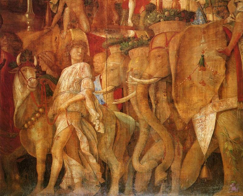 Triumphs of Caeser (scene 5) (1500). Andrea Mantegna
