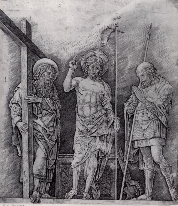 The Resurrection of Christ. Andrea Mantegna