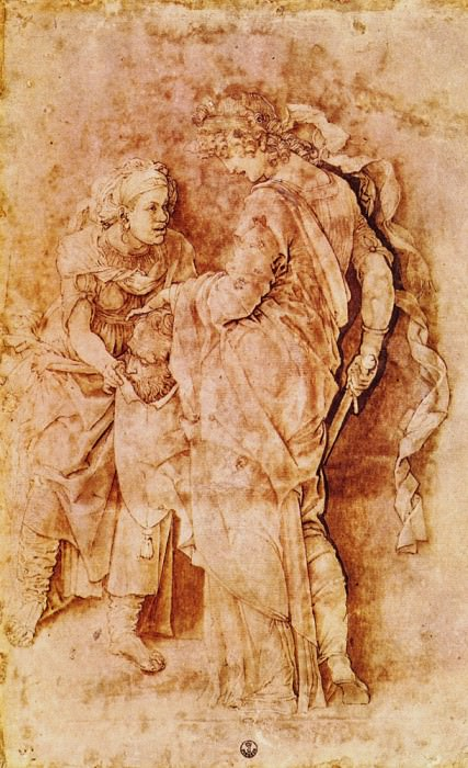 Judith with the head of Holofernes. Andrea Mantegna