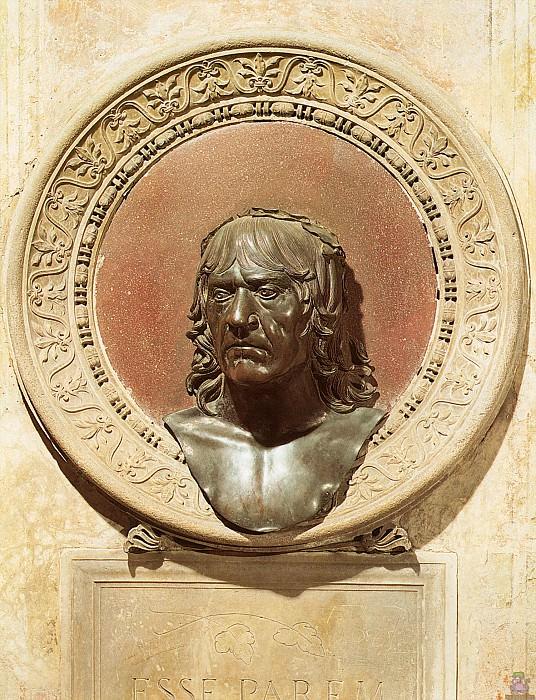Автопортрет (1506). Андреа Мантенья