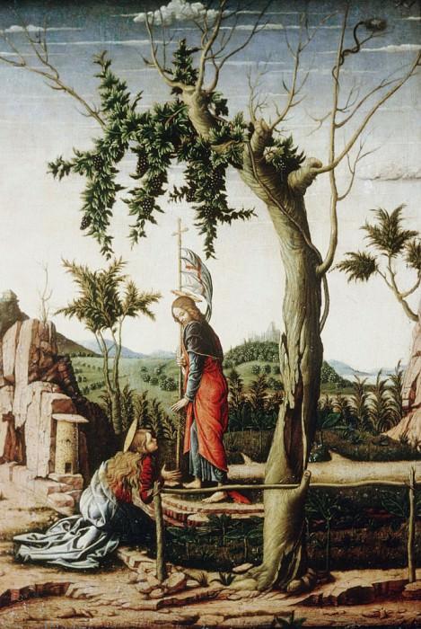 Noli me tangere. Andrea Mantegna