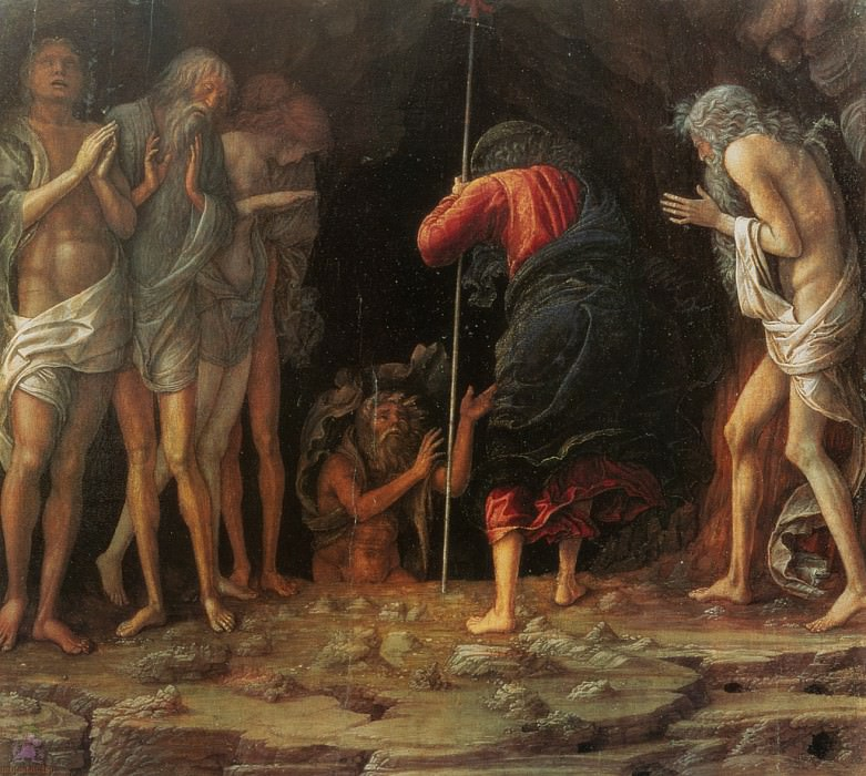 Descent into Limbo (1492). Andrea Mantegna