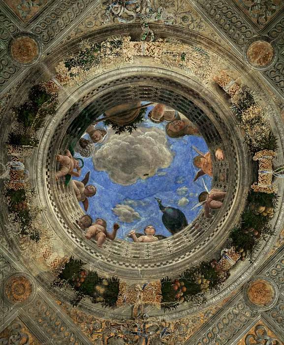 Ceiling Oculus. Andrea Mantegna