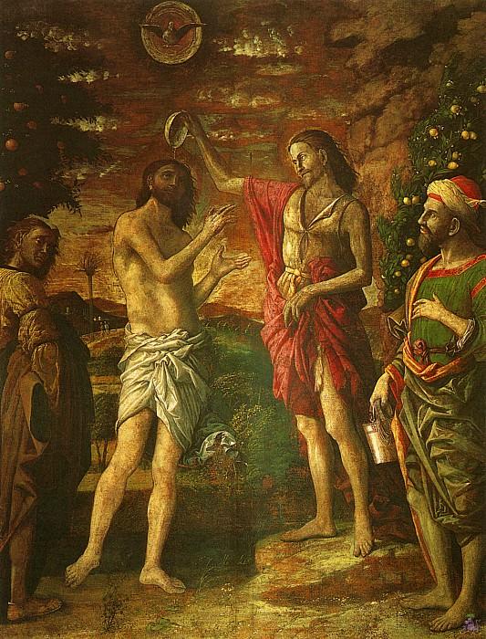 Крещение Христа (1506). Андреа Мантенья