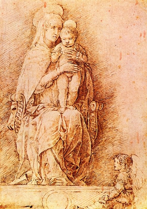 Madonna and child. Andrea Mantegna