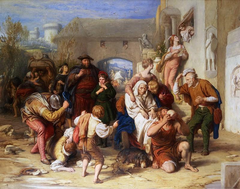 Семь Возрастов Человека, 1835-38. Уильям Малреди