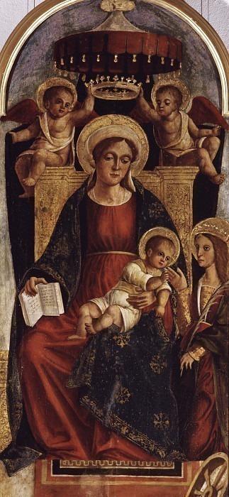 Мистическая свадьба Святой Екатерины Александрийской. Антонио Маринони