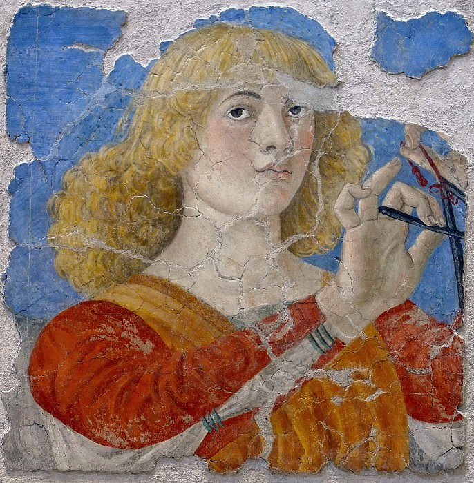 Music-Making Angel. Melozzo da Forli