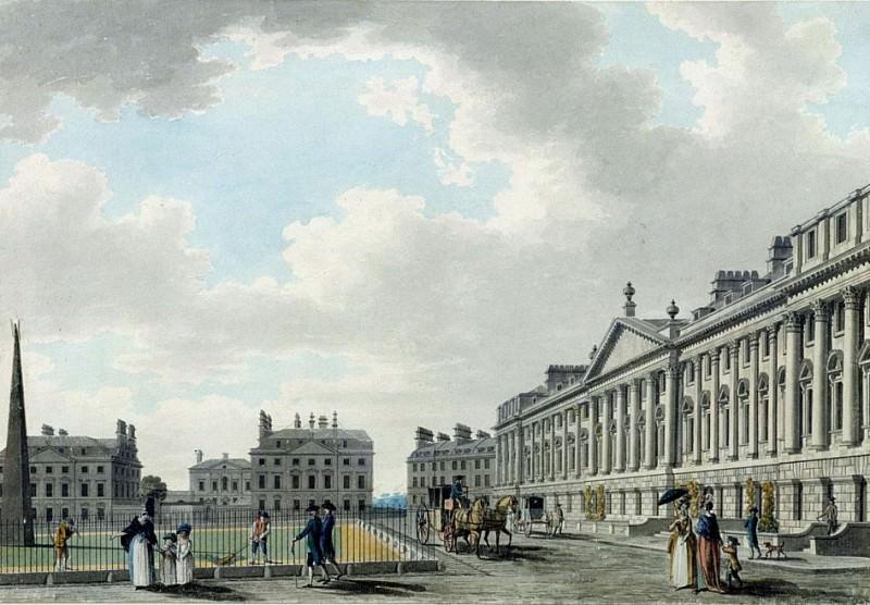 Площадь Королевы, Бат. Томас Малтон младший
