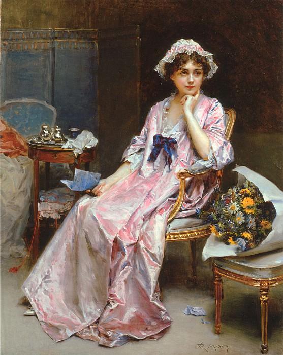 The Reluctant Mistress. Raimundo De Madrazo Y Garreta