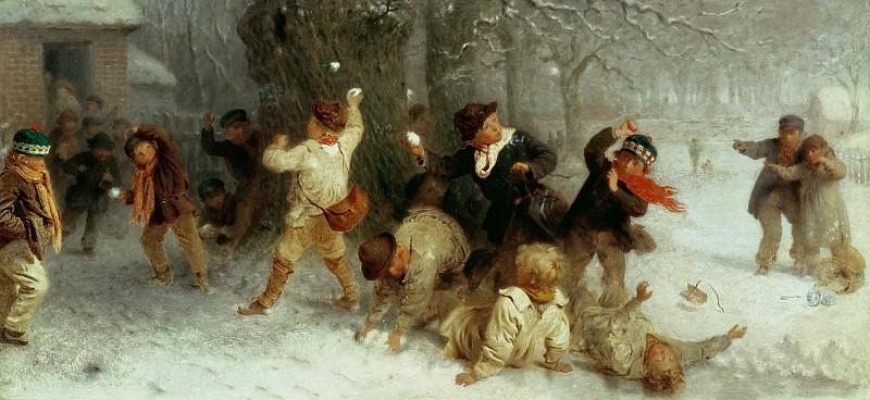 Игра в снежки. Джон Морган