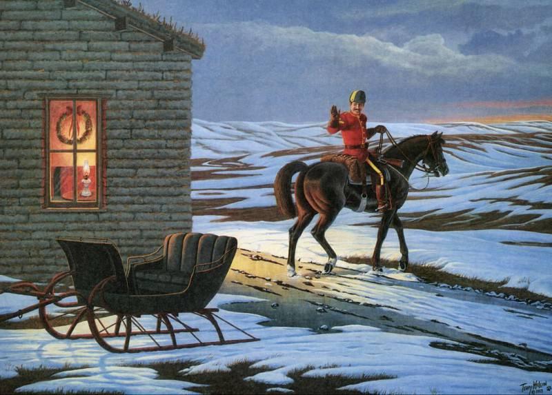 В рождественский рассвет. Терри Маклин