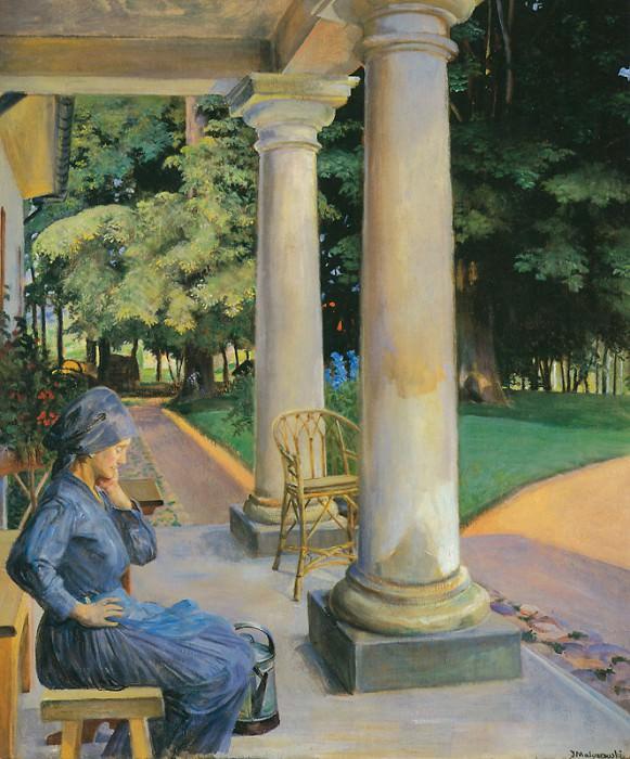 The Gardener. Jacek Malczewski