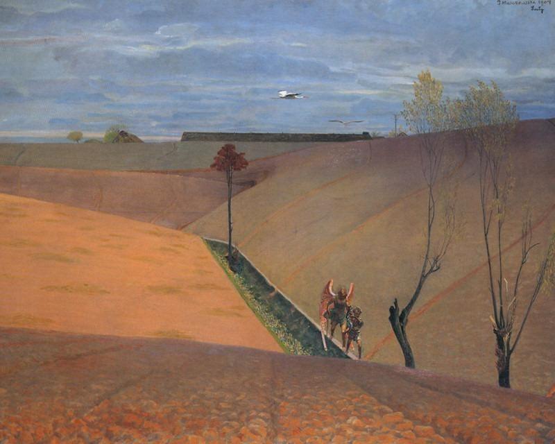 Landscape with Tobiah. Jacek Malczewski