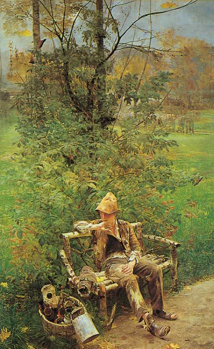 The Painter Boy. Jacek Malczewski