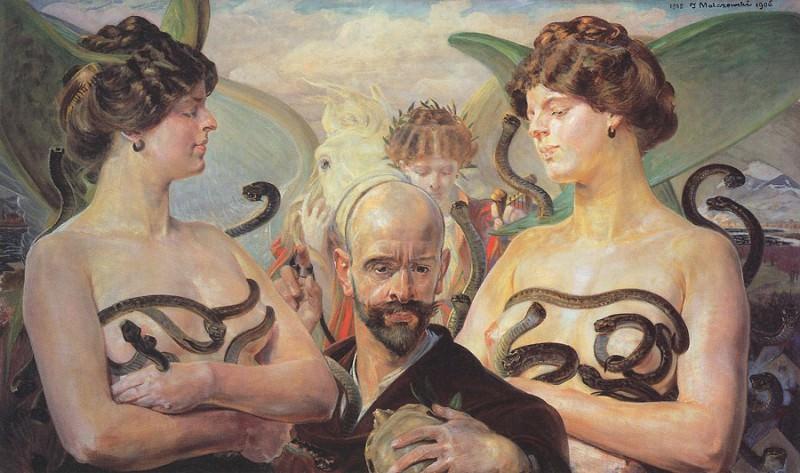 Year 1905. Jacek Malczewski