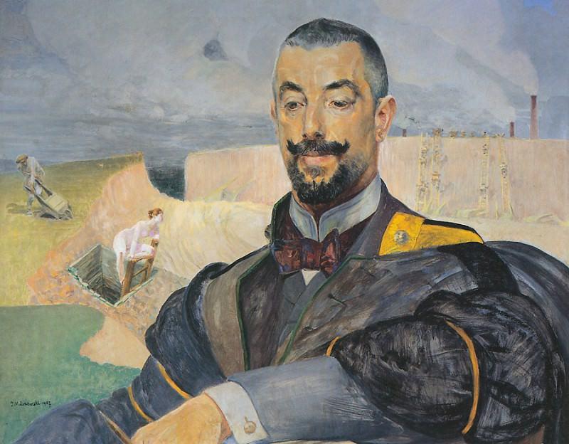Портрет Эразма Барача. Яцек Мальчевский