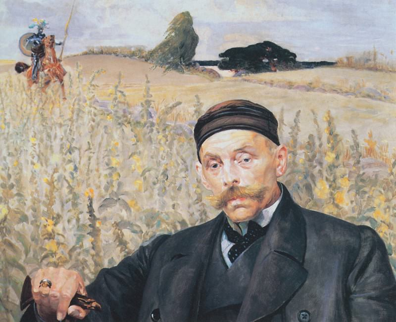 Portrait of Waclaw Karczewski. Jacek Malczewski