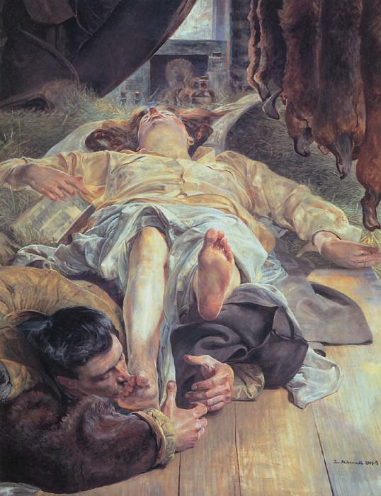 Death of Ellenai. Jacek Malczewski