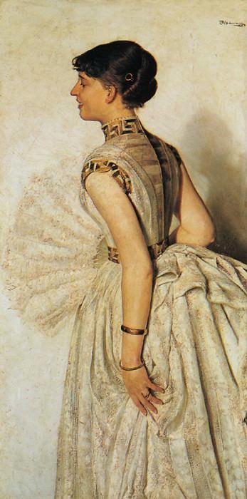 Portrait of the Artists Fiance. Jacek Malczewski