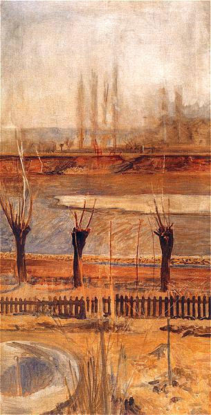 Образ края над Вислой, 1904. Яцек Мальчевский