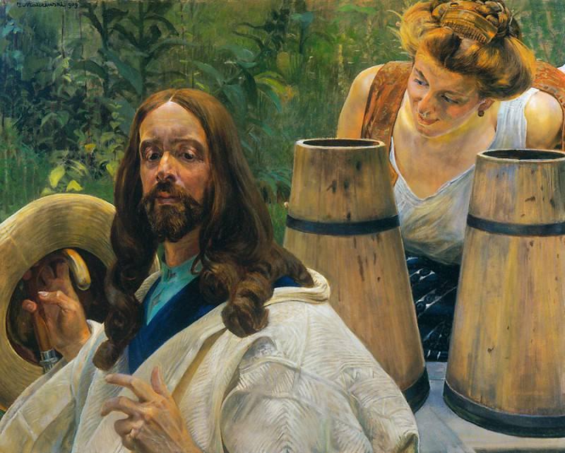 Christ and Samaritan Woman I. Jacek Malczewski