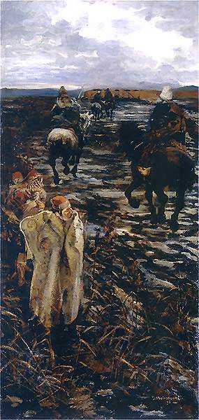 1895 Podroz na Wschod. Jacek Malczewski