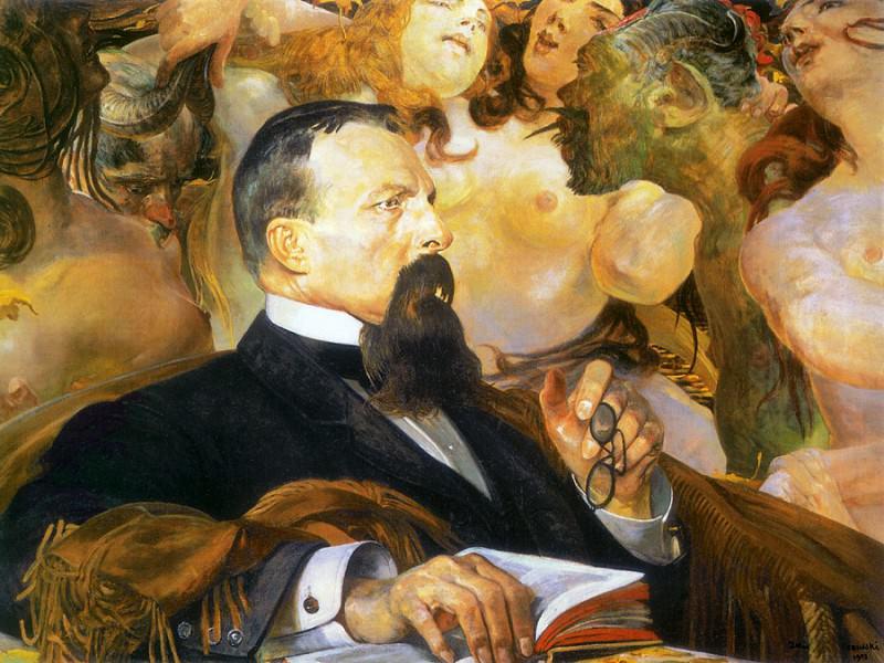 portrait of edward raczynski. Jacek Malczewski